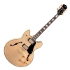 Luna Athena Semi Hollow Natural gitara elektryczna