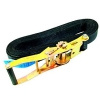 SHZ Clamping belt S800 ratchet 8m/50mm Black - pas z napinaczem