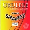 Savarez (660790) 140-R Alliance struny do ukulele sopranowego, koncertowego