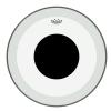 Remo P3-1318-10 Powerstroke 3 Clear Black Dot 18″ przeźroczysty, naciąg perkusyjny