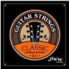 Jeremi CG2843 struny do gitary klasycznej, średni naciąg