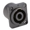 Adam Hall Connectors 7876 - Standardowe gniazdo głośnikowe, 4-stykowe