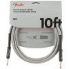 Fender Professional Series Instrument Cable 10′  White Tweed kabel gitarowy