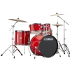 Yamaha RDP2F5SLGSET Rydeen Power Fusion zestaw perkusyjny + hardware (kolor: Hot Red)