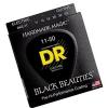 DR BKE-11 Black Beauties Extra Life struny do gitary elektrycznej 11-50