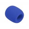 Monacor WS-5 gąbka mikrofonowa, niebieska