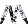 Fender Weighless Running Logo W/B  pasek