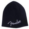 Fender Logo Beanie, Black, One Size czapka