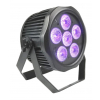 Fractal PAR LED 6 x 12 W 6 in 1 LED IP65 BATT - reflektor LED zewnętrzny akumulatorowy