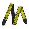 Dunlop Jacquard Strap - Fillmore Yellow, pasek gitarowy