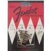 Fender Pure Vintage Strap Button Mounting Screws, Nickel (12)