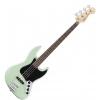 Fender Deluxe Active Jazz Bass Pau Ferro Fingerboard, Surf Pearl gitara basowa