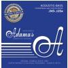 Adamas 5300NU-M (669615) Struny do basu akustycznego Nuova coated / powlekane Zestaw 4-string Med
