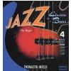 Thomastik JF32043 (682701) struny do gitary basowej Jazz Bass Seria Nickel Flat Wound Roundcore .043