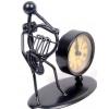 GEWA Firgurka z zegarem Flöte Waltornia