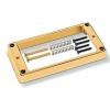 Schaller (SC901526) Ramka do Humbuckera 1-otwór  złoty