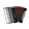 Moreschi Studio 120 IV Cassotto (2+2) 41/4/13+M 120/5/4 Musette akordeon (czarny)