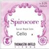 Thomastik (641264) Spirocore struny do wiolonczeli - Set 1/2 - S789