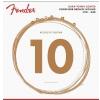 Fender 860XL Phosphor Bronze Dura Tone Coated 10-48 struny do gitary akustycznej