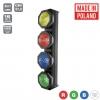 Flash Pro (b-stock) OCTO SUNBAR 4x30W 4in1 COB RGBW 4 SECTIONS mk2 - belka LED - LEDBAR retro, vintage, portman