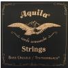 Aquila Thunderblack Bass struny do ukulele, BEADG, 23 Scale