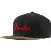 Fender Camo Flatbill Hat czapka