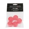 Mooer Candy Red  Footswitch Topper plastikowe osłonki na przełączniki nożne