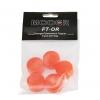 Mooer Candy Orange Footswitch Topper plastikowe osłonki na przełączniki nożne