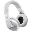 Pioneer HDJ-X5-BT-W białe słuchawki bezprzewodowe DJ (Bluetooth)