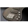 RockBass Corvette Multiscale, 5-String Solid Black Satin gitara basowa