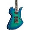 BC Rich Mockingbird Extreme Exotic Evertune Quilted Maple Top Cyan Blue gitara elektryczna