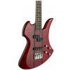 BC Rich Heritage Classic Mockingbird Bass Quilted Maple Top Transparent Red gitara basowa