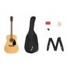 Fender FA-115 Dreadnought NAT WN V2 gitara akustyczna z pokrowcem
