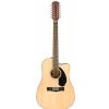 Fender CD-60SCE Dreadnought WF Natural  gitara elektroakustyczna dwunastostrunowa