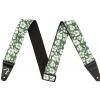 Fender 2″ Hawaiian Strap, Green Floral pasek gitarowy