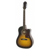 Epiphone J15 EC Deluxe Vintage Sunburst gitara elektroakustyczna z futerałem