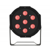 Fractal PAR LED 7x9 3w1 RGB - reflektor LED  czarny płaski
