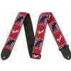 Fender Monogrammed red/white/blue pasek