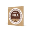 D′Addario EJ-33 struny do gitary klasycznej Folk Nylon zakończone kulką