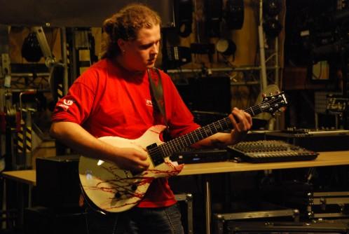 Jacek Hiro - prezentacja efektów gitarowych T-REX