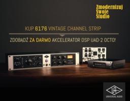Kup 6176 Vintage Channel Strip i zyskaj za darmo DSP UAD-2 OCTO