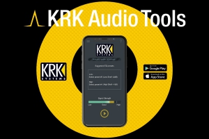 KRK Systems wypuszcza aplikację AUDIO TOOLS!