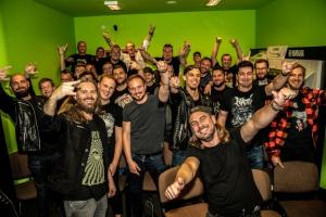 Ibanez Metal Tag Team Championship Clinic Tour za nami