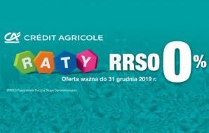 Raty 0 procent w Credit Agricole przez cały okres przedświąteczny!