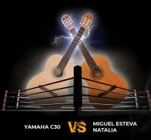 Yamaha C30 vs Miguel Esteva Natalia - bitwa klasyków!