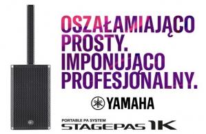 Nowy przenośny system Yamaha Stagepass 1K