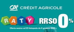 Zimowe raty w Credit Agricole