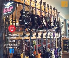 ESP LTD EII Guitars Polska - Live Stream w Muzycznym