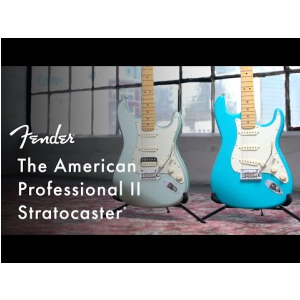 Fender American Professional II Stratocaster HSS Rosewood Fingerboard, Olympic White