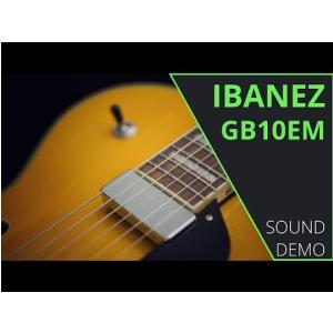 Ibanez GB10EM-AA Antique Amber George Benson Signature